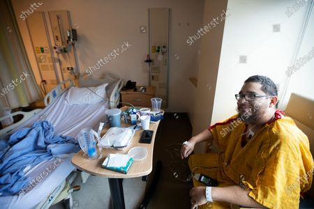 Editorial photo of Inside Martin Luther King, Jr., Community Hospital during the global pandemic, Los Angeles, California, USA - 01 Feb 2021