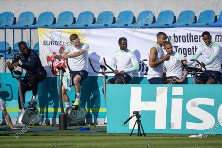 Editorial image of UEFA EURO 2020 Switzerland training, Baku, Azerbaijan - 08 Jun 2021