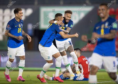 Editorial photo of Paraguay v Brazil, World Cup Qualifiers, Estadio Defensores del Chaco, Football, Asuncion, Paraguay - 08 Jun 2021