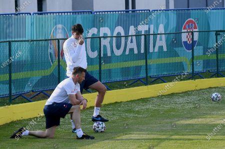 Editorial photo of Football Euro 2021: Training of the Croatian national football team, Rovinj, Croatia - 07 Jun 2021