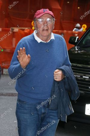 James Patterson at Live with Kelly and Ryan promoting his new book The President Daughter in New York City
