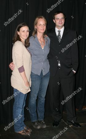 Jennifer Grace, Helen Hunt and James McMenamin