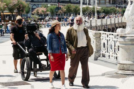 Editorial image of Tony Kaye out and about, San Sebastian, Spain - 08 Jun 2021