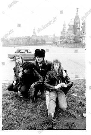 Stuart Adamson, Bruce Watson, Tony Butler and Mark Brzezicki