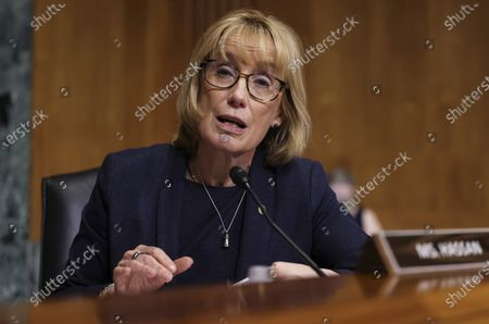 """Editorial photo of US Senate Committee on Finance hearing """"The IRS's Fiscal Year 2022 Budget"""", Washington, District of Columbia, USA - 08 Jun 2021"""