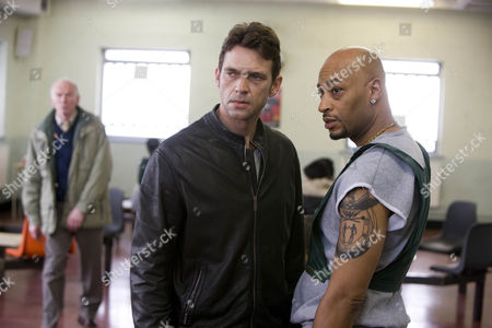 Stock Image of Pictured: Dougray Scott as Michael O'Connor and Terence Maynard as Barrington Smith.
