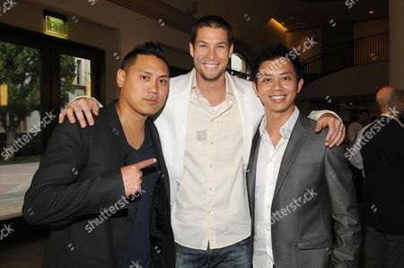 "Director/writer/executive producer Jon M. Chu, Chadd ""Madd Chadd"" Smith and executive producer Hieu Ho"