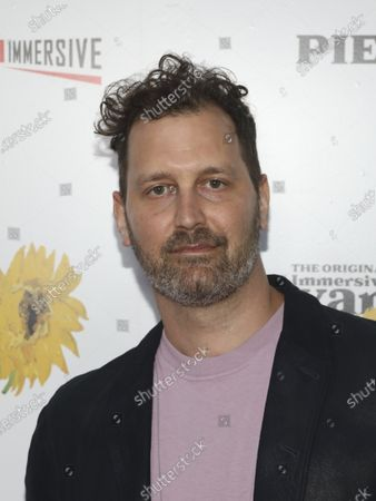 """Nathan Phillips attends the """"Immersive Van Gogh"""" art experience opening celebration at Pier 36, in New York"""