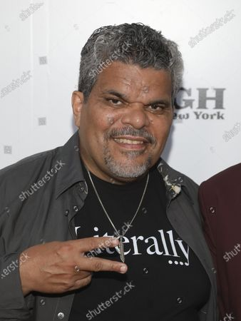 """Stock Image of Luis Guzman attends the """"Immersive Van Gogh"""" art experience opening celebration at Pier 36, in New York"""
