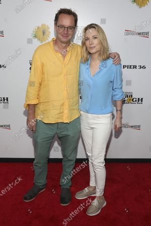 Editorial picture of Immersive Van Gogh Opening Celebration, New York, United States - 08 Jun 2021