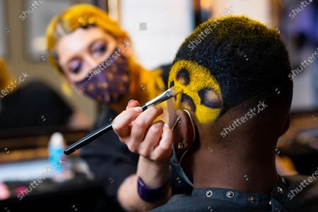 BOXPARK offers football fanatics a Euros-inspired barber service with a menu of iconic football haircuts, including The Pogba leopard print, The Perisic checkerboard, The Beckham mohawk and The Gazza '96.