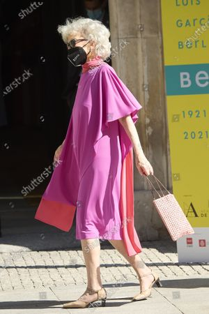 Marisa Paredes attends the Opening of the exhibition 'Berlanguiano. Luis Garcia Berlanga (1921-2021)' at Real Academia de San Fernando on June 9, 2021 in Madrid, Spain