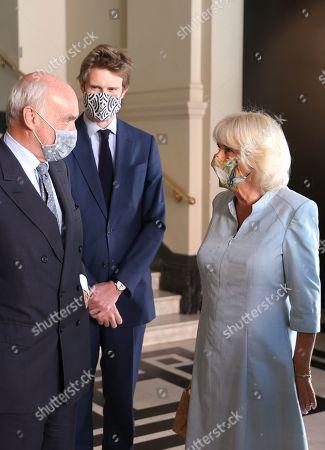 Editorial image of Camilla, Duchess Of Cornwall visits 'On Point: Royal Academy Of Dance At 100' at the V&A, London, UK - 09 Jun 2021