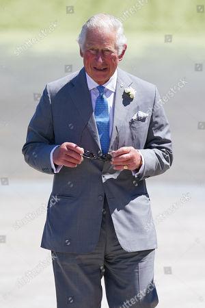 Prince Charles visits Rainbarrow Farm, Poundbury