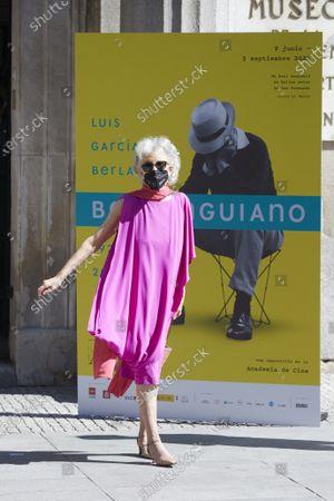 Editorial photo of King Felipe and Queen Letizia attend inauguration of exhibition 'Berlanguiano, Luis García Berlanga (1921-2021)', Madrid, Spain - 09 Jun 2021