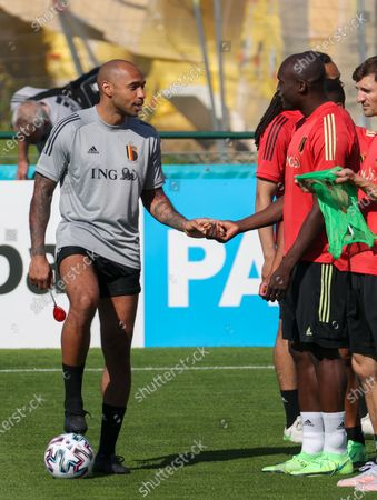 Editorial picture of Soccer Red Devils Tubize Training Wednesday, Tubize, Belgium - 09 Jun 2021