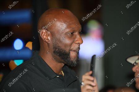 Celebrity Boxing: Lamar Odom v. Aaron Carter, Press Conference, Atlantic City