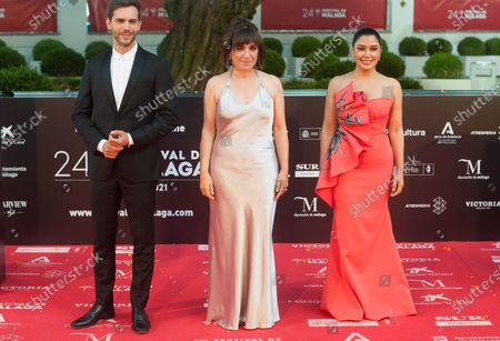 Actor, Marc Clotet, actress, Sterelyn Ramirez and director, Judith Colell