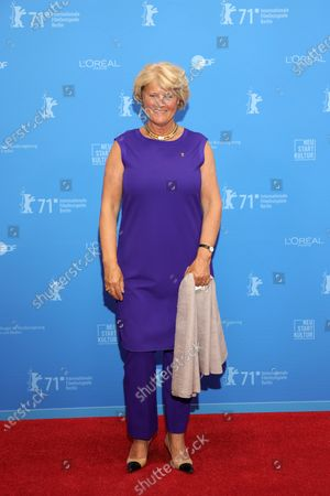 German Federal Commissioner for Culture and Media Monika Gruetters attends the Opening Ceremony and premiere of 'The Mauritanian' during the 71st Berlin International Film Festival (Berlinale) Summer Special at the Museumsinsel (Museum Island) in Berlin, Germany, 09 June 2021. Due to the coronavirus COVID-19 pandemic, the 71st Berlinale is taking place in two stages: a virtual Industry Event, that was held from 01 to 05 March 2021, and the Summer Special for the general public running from 09 to 20 June 2021 as an outdoor-only event.