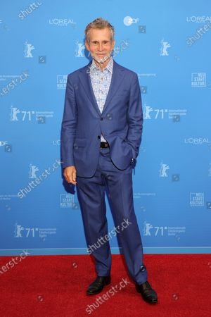Ulrich Matthes attends the Opening Ceremony and premiere of 'The Mauritanian' during the 71st Berlin International Film Festival (Berlinale) Summer Special at the Museumsinsel (Museum Island) in Berlin, Germany, 09 June 2021. Due to the coronavirus COVID-19 pandemic, the 71st Berlinale is taking place in two stages: a virtual Industry Event, that was held from 01 to 05 March 2021, and the Summer Special for the general public running from 09 to 20 June 2021 as an outdoor-only event.
