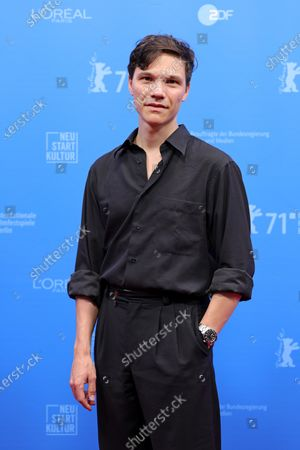 Sebastian Urzendowsky attends the Opening Ceremony and premiere of 'The Mauritanian' during the 71st Berlin International Film Festival (Berlinale) Summer Special at the Museumsinsel (Museum Island) outdoor cinema in Berlin, Germany, 09 June 2021. Due to the coronavirus COVID-19 pandemic, the 71st Berlinale is taking place in two stages: a virtual Industry Event, that was held from 01 to 05 March 2021, and the Summer Special for the general public running from 09 to 20 June 2021 as an outdoor-only event.
