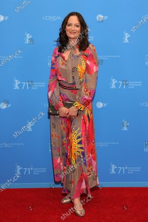 Natalia Woerner attends the Opening Ceremony and premiere of 'The Mauritanian' during the 71st Berlin International Film Festival (Berlinale) Summer Special at the Museumsinsel (Museum Island) in Berlin, Germany, 09 June 2021. Due to the coronavirus COVID-19 pandemic, the 71st Berlinale is taking place in two stages: a virtual Industry Event, that was held from 01 to 05 March 2021, and the Summer Special for the general public running from 09 to 20 June 2021 as an outdoor-only event.