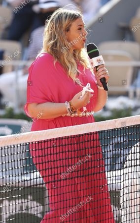 Marion Bartoli on-court interview