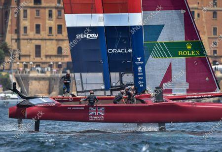 Editorial photo of Italy SailGP, Event 2, Season 2, Taranto, Italy - 06 Jun 2021