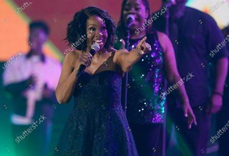Gladys Knight performs at the CMT Music Awards at the Bridgestone Arena, in Nashville, Tenn