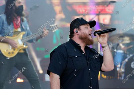 """Stock Image of Luke Combs performs """"Cold as You"""" at the CMT Music Awards, in Nashville, Tenn. The awards show airs on June 9 with both live and prerecorded segments"""