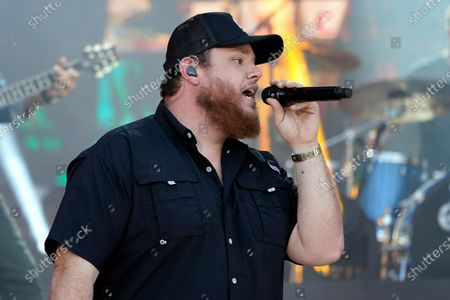 """Stock Picture of Luke Combs performs """"Cold as You"""" at the CMT Music Awards, in Nashville, Tenn. The awards show airs on June 9 with both live and prerecorded segments"""