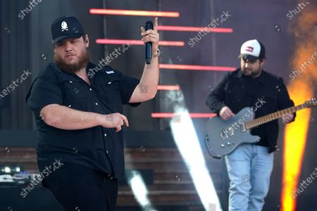 """Stock Photo of Luke Combs performs """"Cold as You"""" at the CMT Music Awards, in Nashville, Tenn. The awards show airs on June 9 with both live and prerecorded segments"""