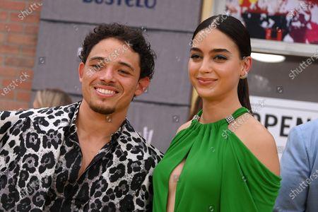Anthony Ramos and Melissa Barrera