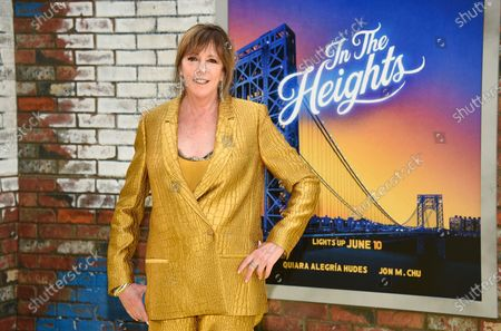 """Tribeca Film Festival co-founder Jane Rosenthal attends the 2021 Tribeca Film Festival opening night premiere of """"In The Heights"""" at the United Palace theater, in New York"""