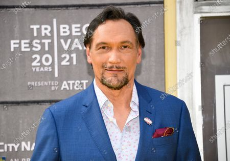 """Actor Jimmy Smits attends the 2021 Tribeca Film Festival opening night premiere of """"In The Heights"""" at the United Palace theater, in New York"""