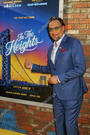 """Editorial image of """"In The Heights"""" World Premiere Opening Night  2021 Tribeca Festival United Palace Theater Washington Heights, NYC,Washington Heights, New York, USA - 09 Jun 2021"""