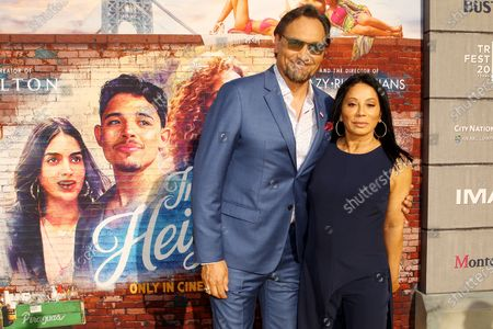Stock Photo of Jimmy Smits with Guest