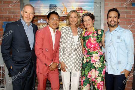 Stock Picture of Toby Emmerich, Jon M. Chu (Director), Ann Sarnoff, Quiara Alegria Hudes, Lin-Manuel Miranda