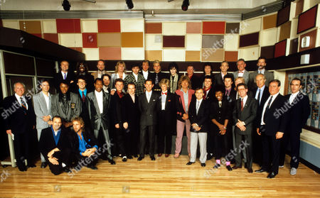 Editorial image of Prince's Trust pop party official line up, Air Studios, London, Britain - Nov 1985