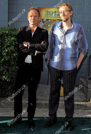 Sting and Daniel Pinchbeck