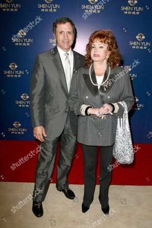 Stock Photo of Frank Stallone and Jackie Stallone