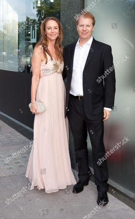 Lady Susanne Olivier and husband Graeme Hossie