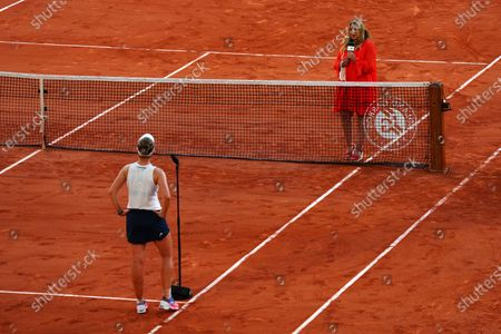 Editorial picture of French Open Tennis, Day Twelve, Roland Garros, Paris, France - 10 Jun 2021