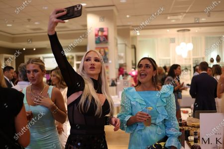 Guests including Nikki Lund attend 'A Night of Shopping, Sex + Rock N' Roll'