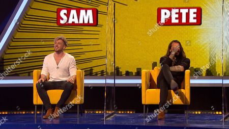 Stock Image of Sam Thompson and Peter Wicks.