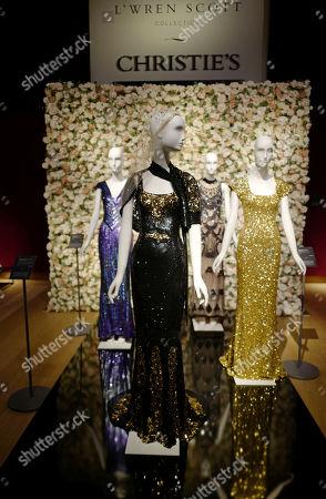 'Oscar' dress worn by Nicole Kidman during the L'Wren Scott dress sale