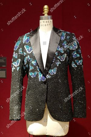 Stock Picture of Mick Jagger jacket by L'Wren Scott