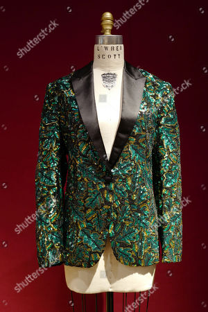 Stock Image of Mick Jagger jacket by L'Wren Scott