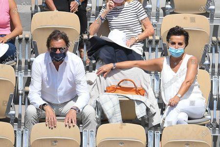 Editorial photo of French Open Tennis, Day Nine, Roland Garros, Paris, France - 07 Jun 2021