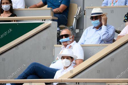 Editorial photo of French Open Tennis, Day Eleven, Roland Garros, Paris, France - 09 Jun 2021